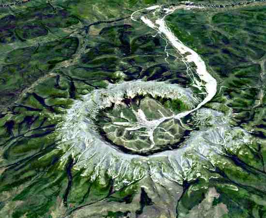Cratera de asteróide na Rússia tem trilhões de quilates de diamantes