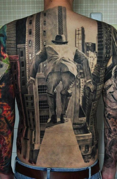 Tatuagens 3D incrivelmente realistas
