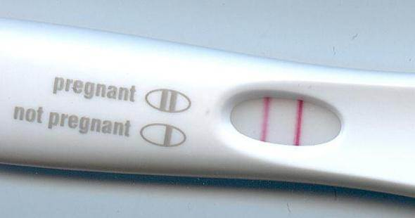Site de vendas americano vende teste de gravidez positivo