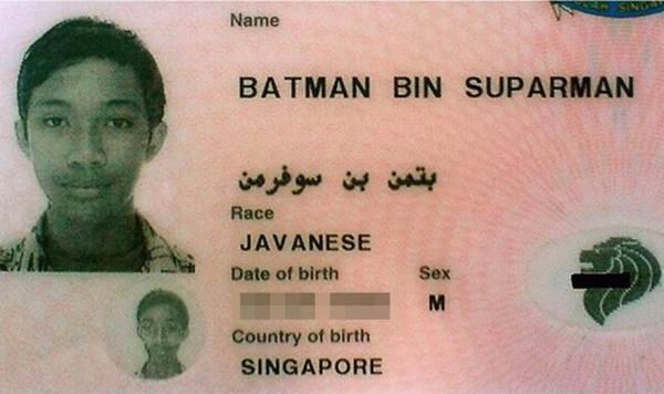 """""""Batman filho de Suparman"""" é preso por roubo em Singapura"""