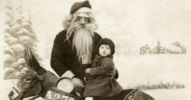19 fotos do Papai Noel que vão lhe assustar