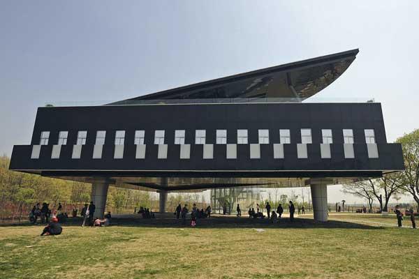 Conheça a construção na China inspirada em instrumentos musicais-1