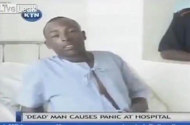 Queniano declarado como morto acorda gritando em necrotério