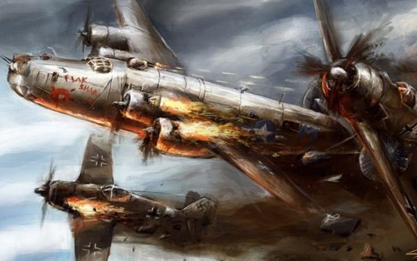 Vídeo real da Segunda Guerra Mundial, cenas incríveis e em cores