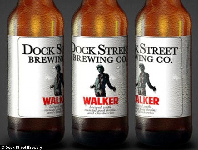 Empresa dos EUA lança nova cerveja horripilante fabricada com cérebros de cabra