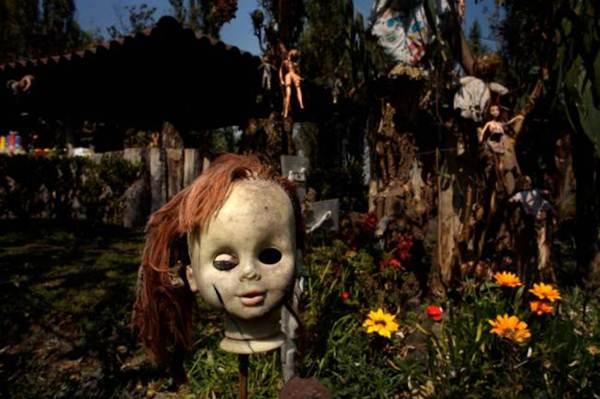 Bem-vindo à Ilha das Bonecas: Um assustador santuário localizado no México