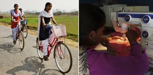 Na índia mulher de 532 anos recebe benefício social