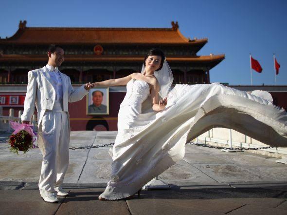 Chineses inventam curso para arrumar marido rico