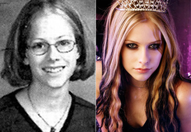 Os famosos antes e depois da fama