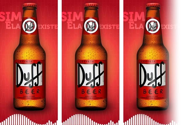Cerveja Duff começa a ser fabricada no Brasil
