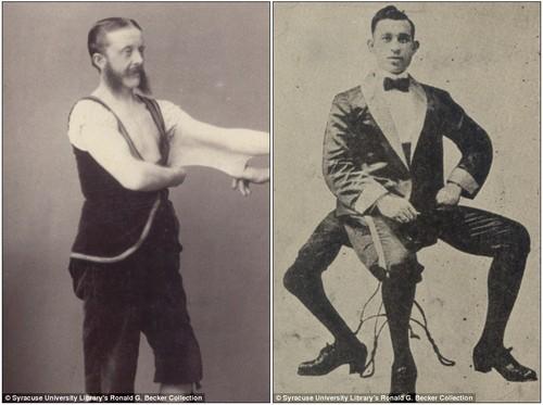"""Fotos das principais atrações do """"Circo dos Horrores"""" do século XIX"""