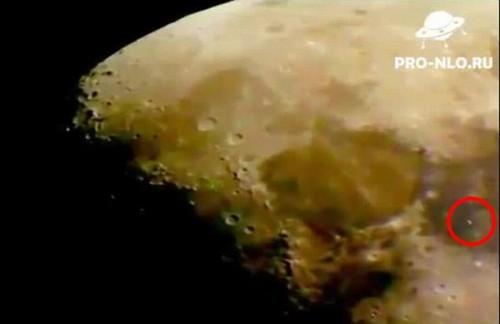 Vídeo mostra suposto disco voador na Lua