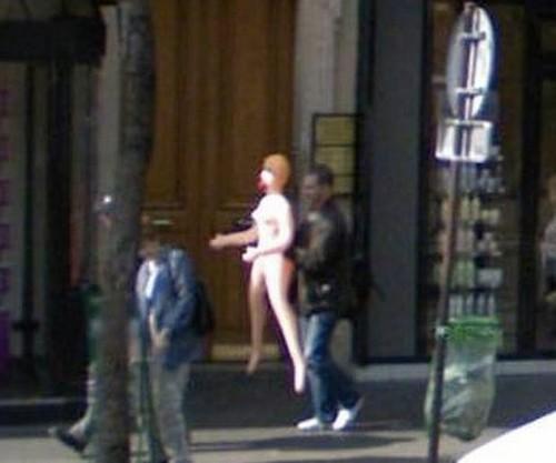 As imagens mais indiscretas capturas pelo Google Street View